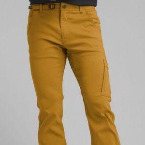 Men's prAna Stretch Zion Straight Fit Bronzed